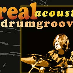 Goldsoundmusic DVD Real Acoustic Drumgrooves